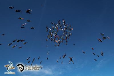 Brian Buckland Photography: Vertical World Record at Skydive Chicago &emdash; VRW2015-2188
