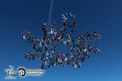Brian Buckland Photography: Vertical World Record at Skydive Chicago &emdash; VRW2015-2891