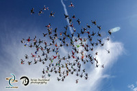 Vertical World Record at Skydive Chicago
